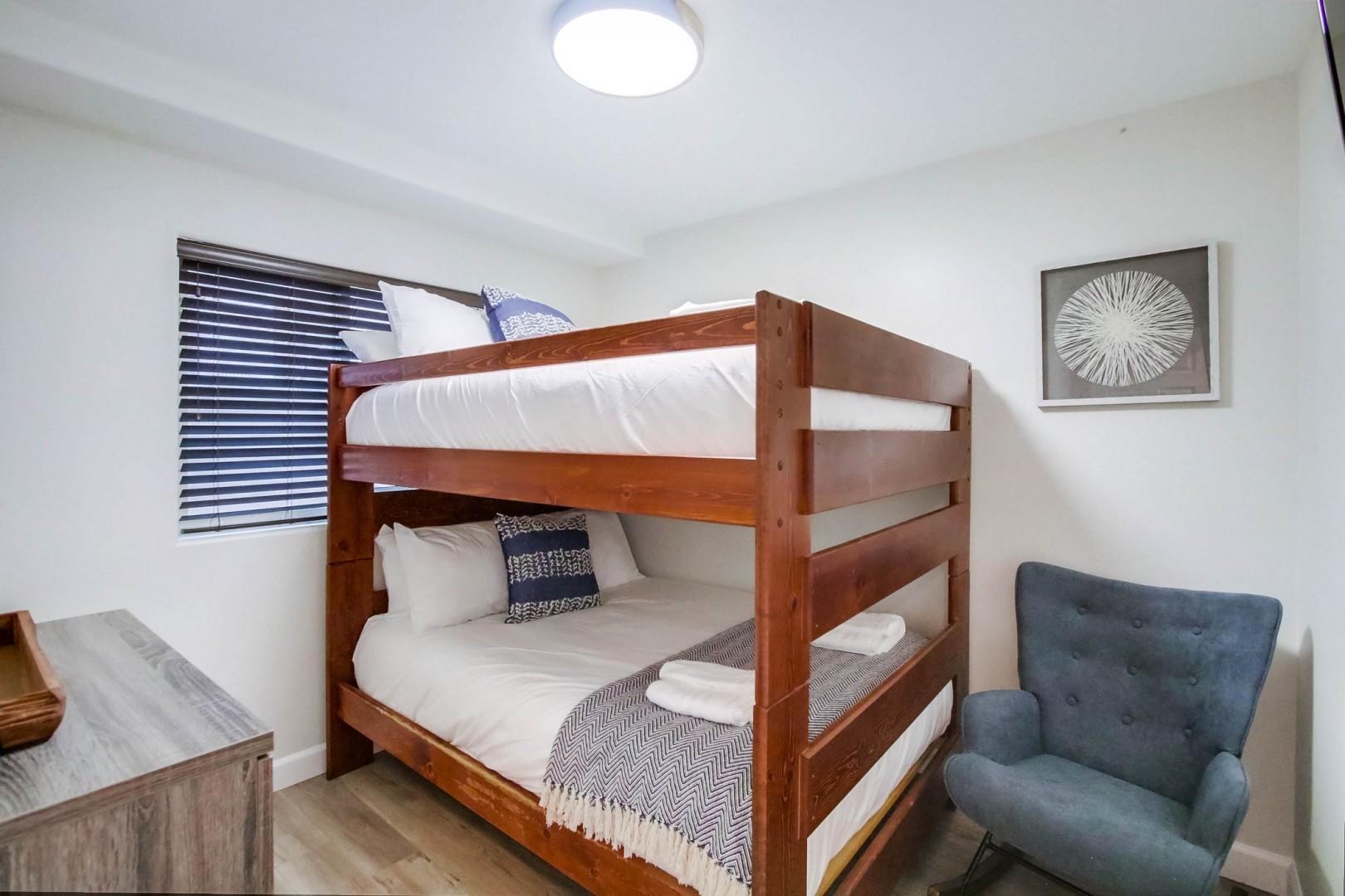 Ground-level bedroom 1