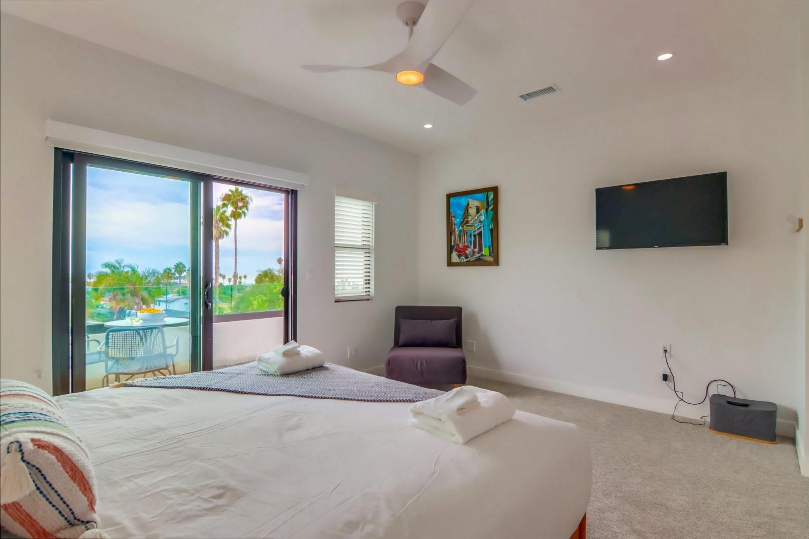 Bedroom suite 2 with TV
