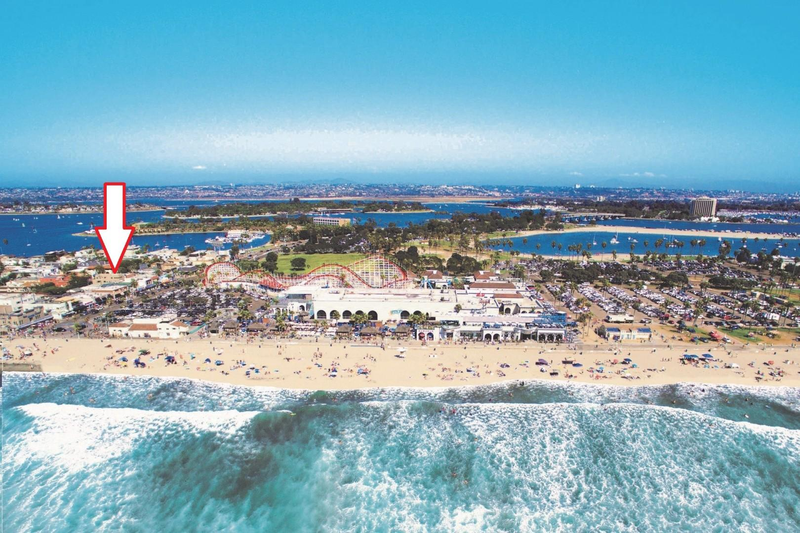 Located in the heart of Mission Beach