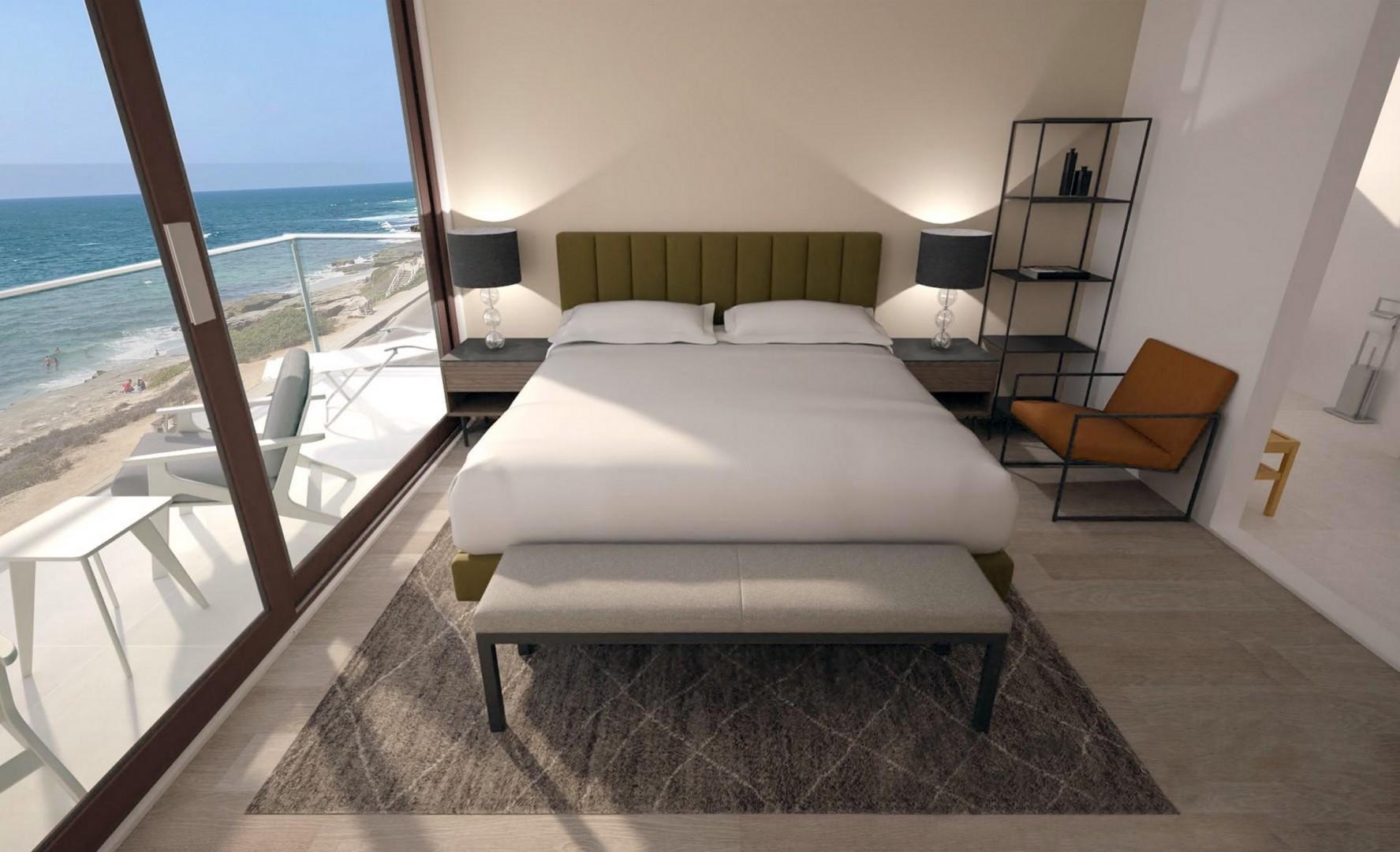 Oceanfront Suite with lie-down ocean views
