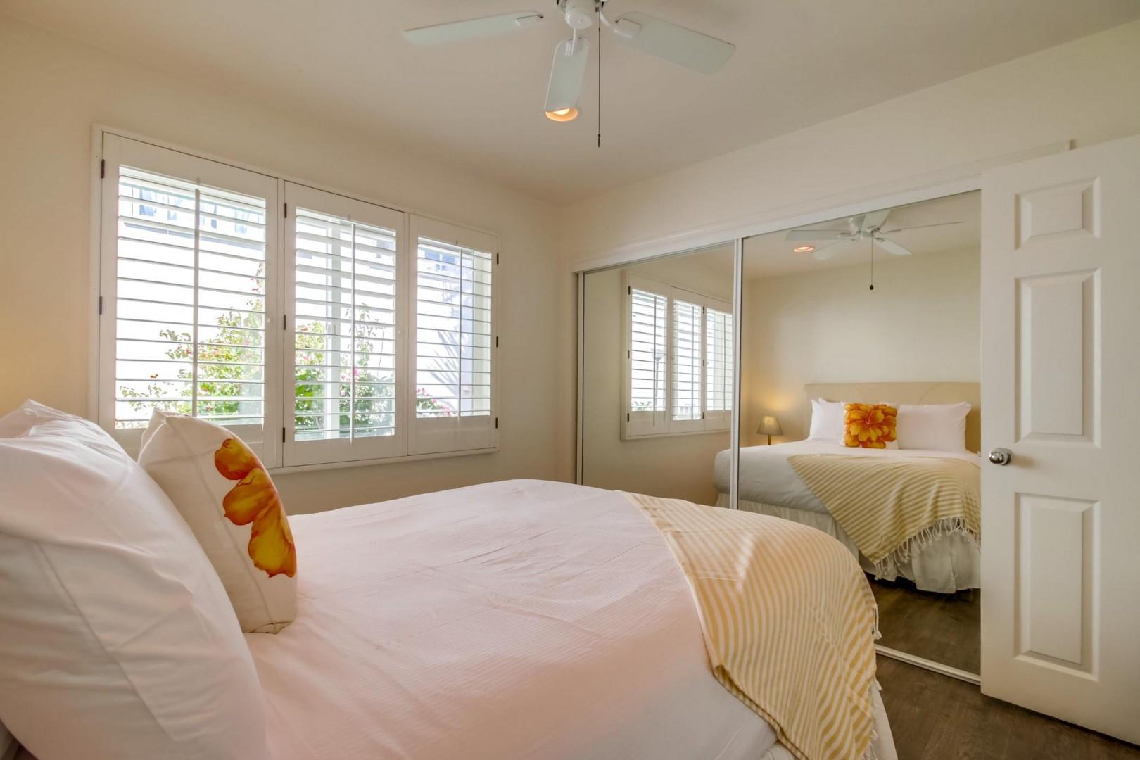 Main level queen bedroom 2