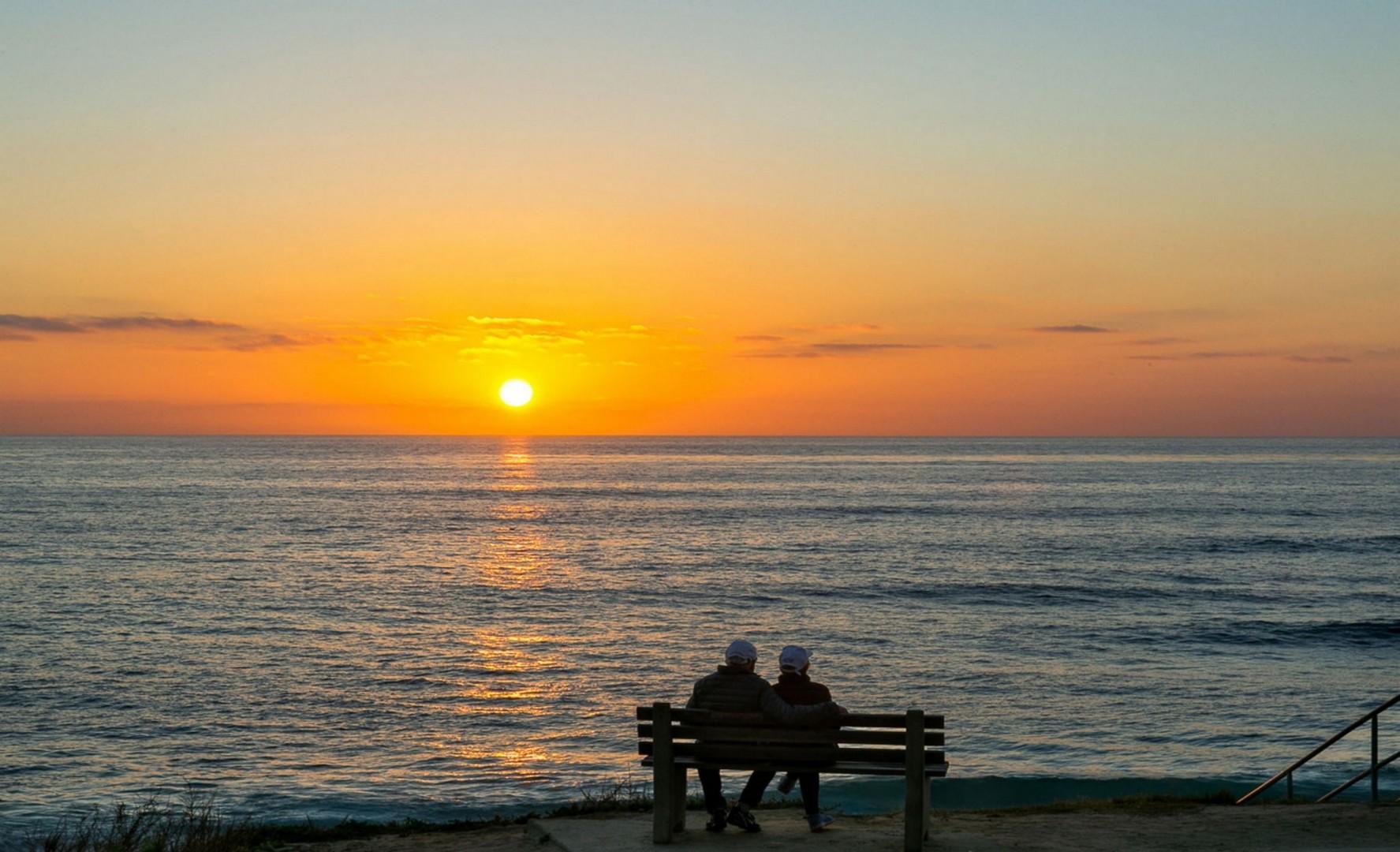 Amazing sunsets nightly