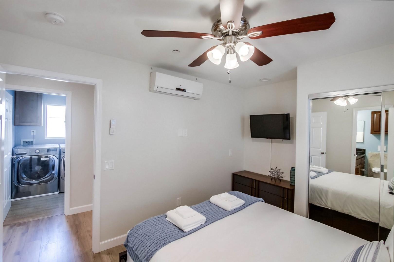 Bedroom 2 with flat-screen TV