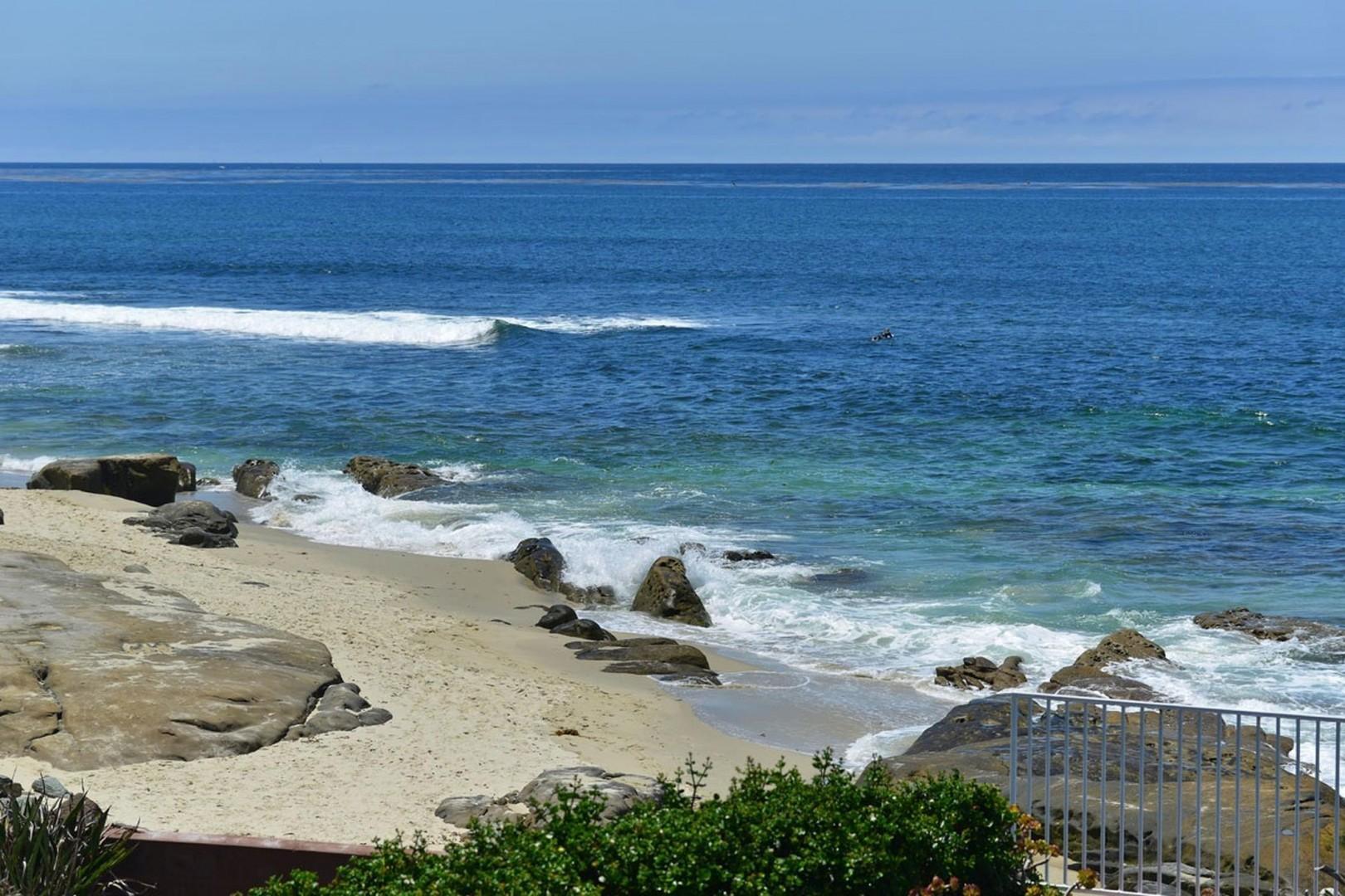 The beautiful La Jolla coastline