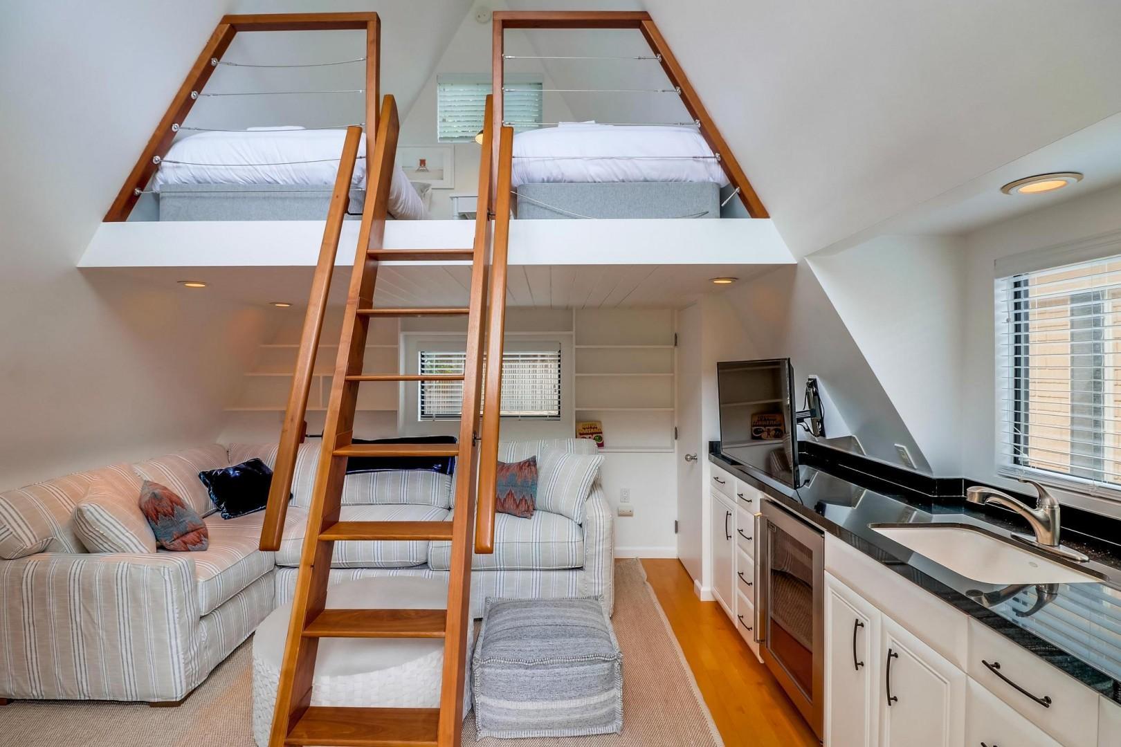 Loft and mini kitchen