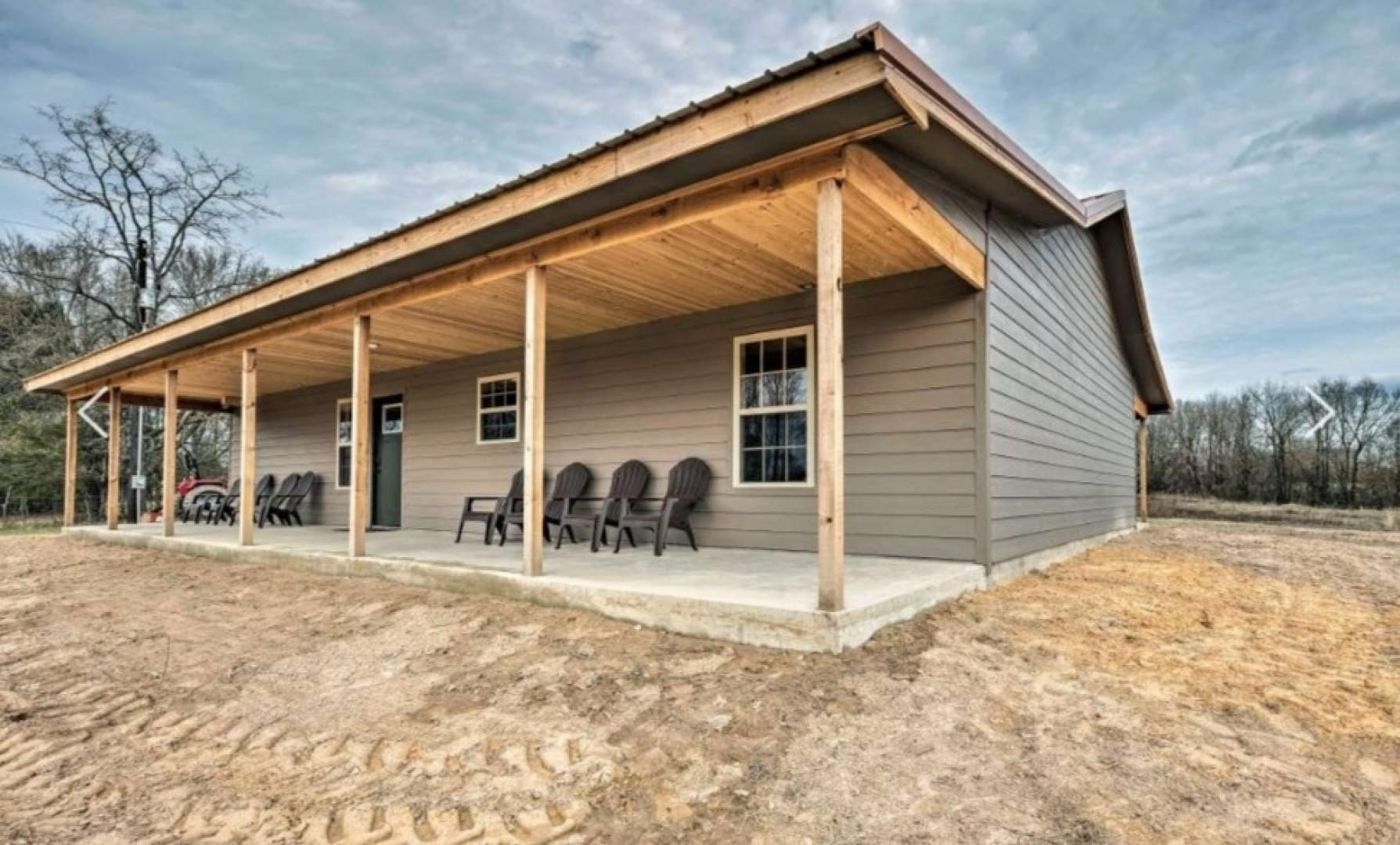 Little House on the Prairie (Mountain Fork River - Eagletown, OK)