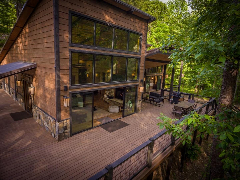 Rustic Hollow Cabin