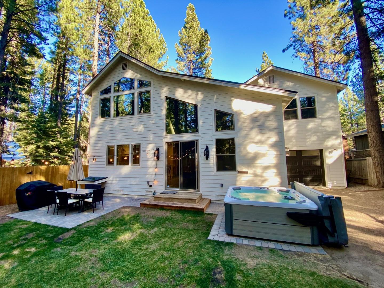 White Tahoe Cottage