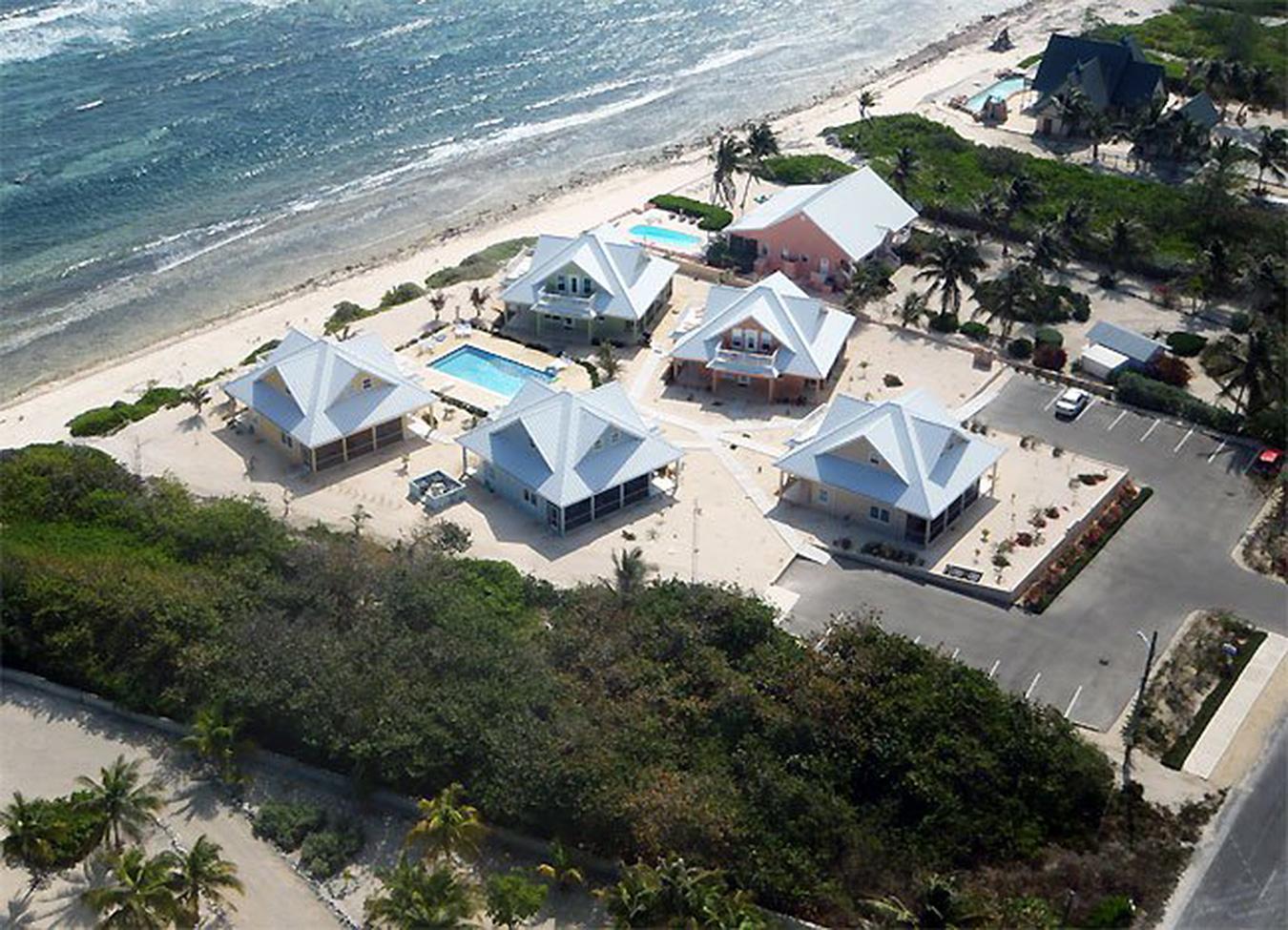Ocean Paradise Aerial View