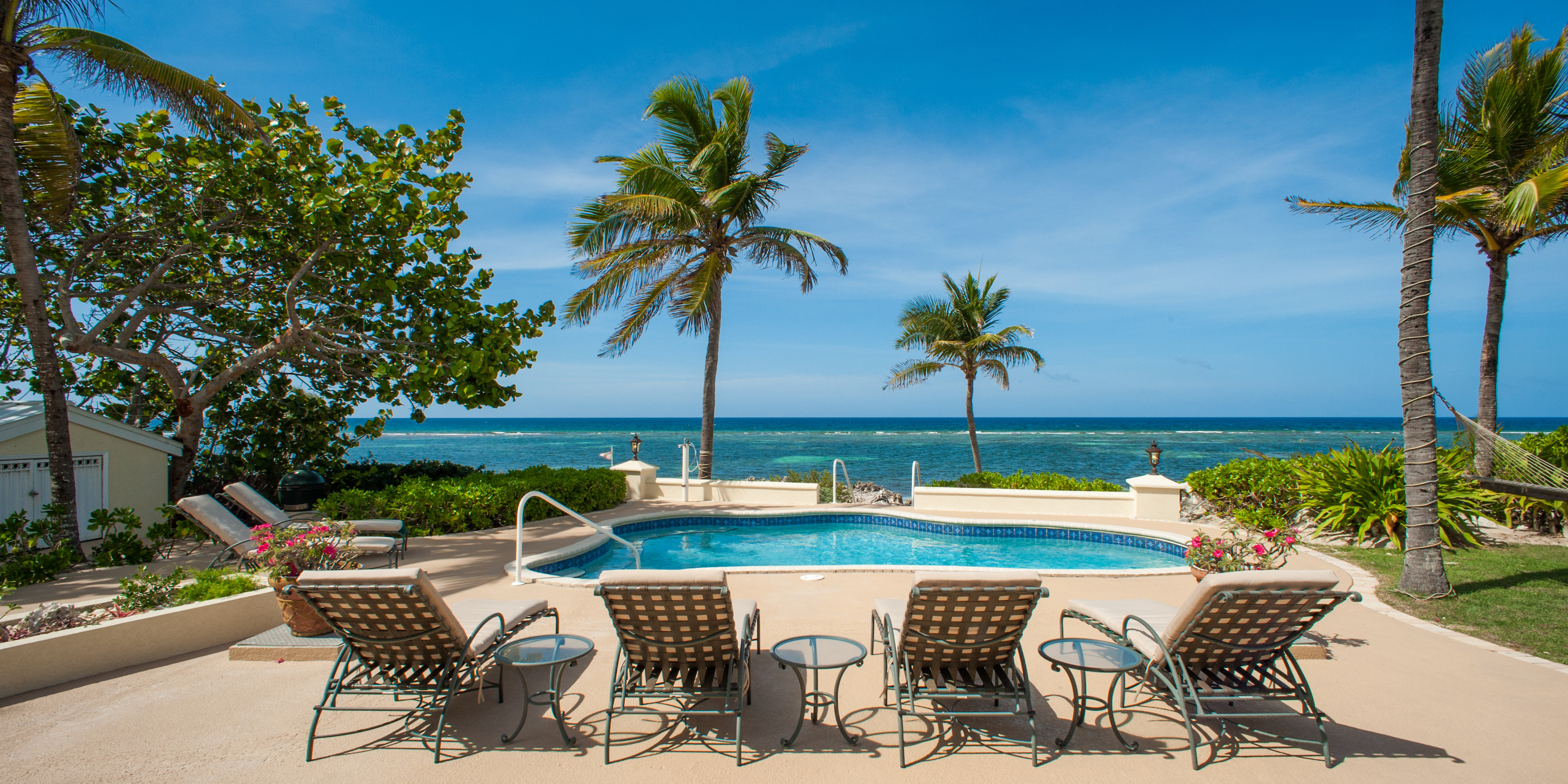 "4br/4ba luxury oceanfront rental villa with pool ""gypsy"" 