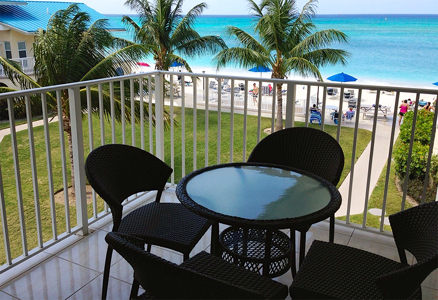 Cayman Reef Resort Ocean View Patio