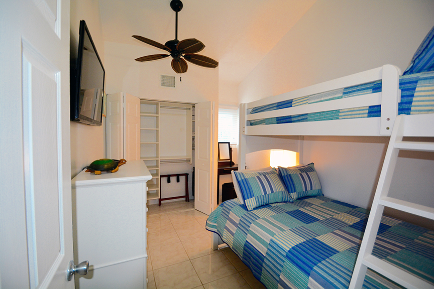 Cayman Reef Resort Bunk Bedroom