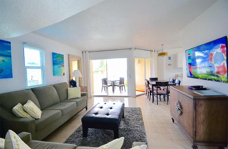 Cayman Reef Resort Living Area