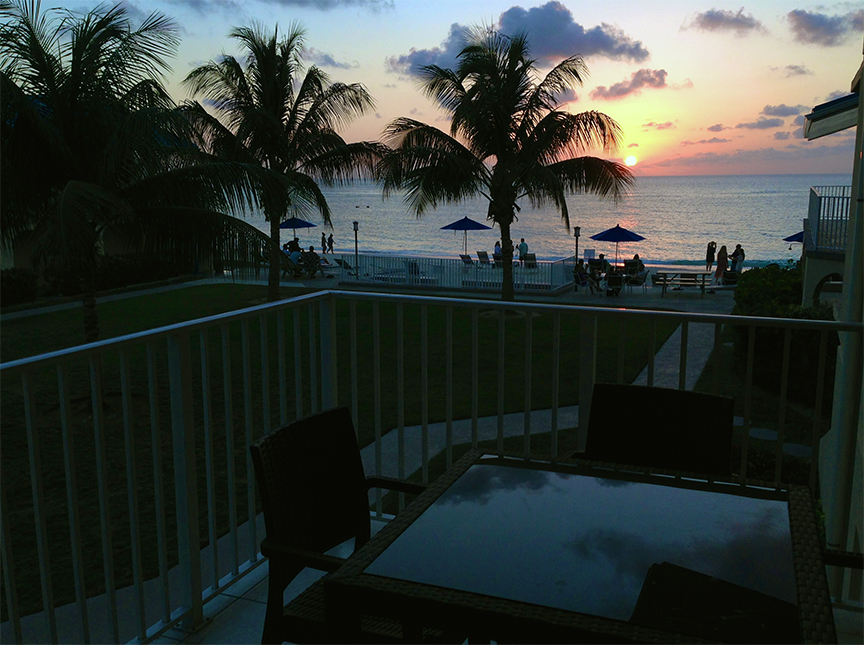 Cayman Reef Resort Sunset