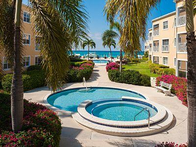 Ocean Front Pool air view.