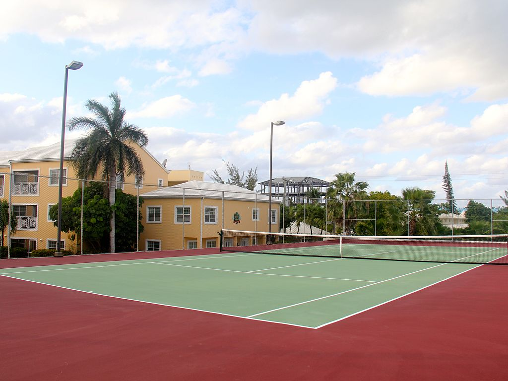 Private Tennis Court for our guests.