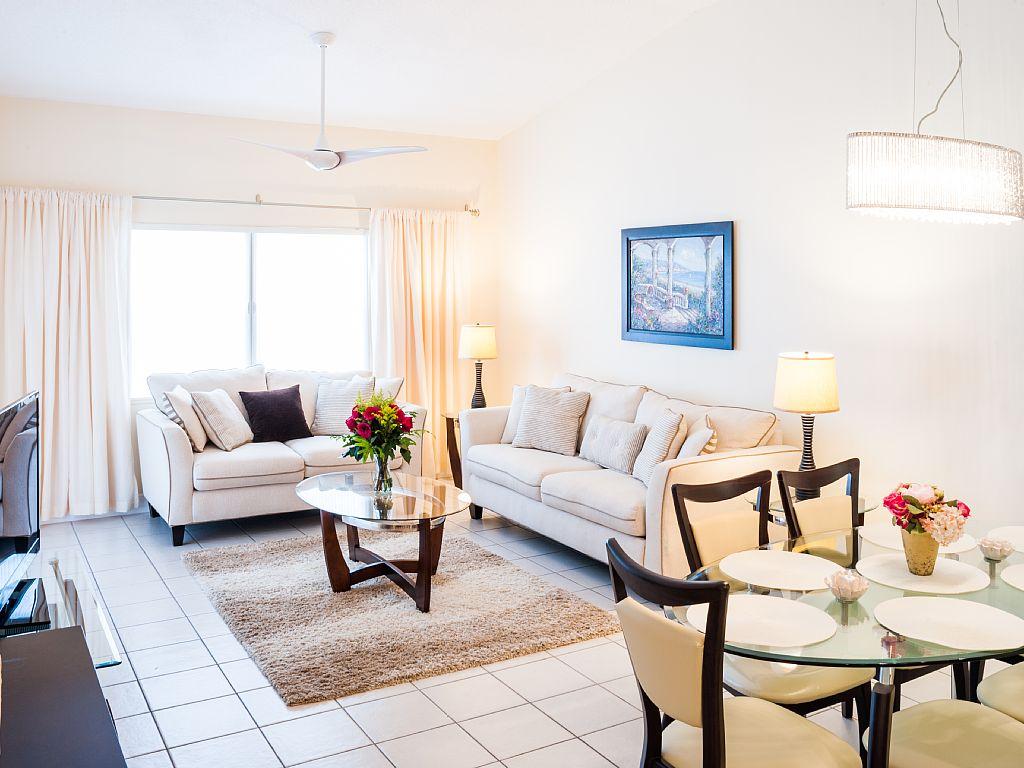 Modern Living Area.