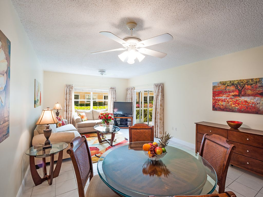 Open Floor Plan, Living and Dining Area.