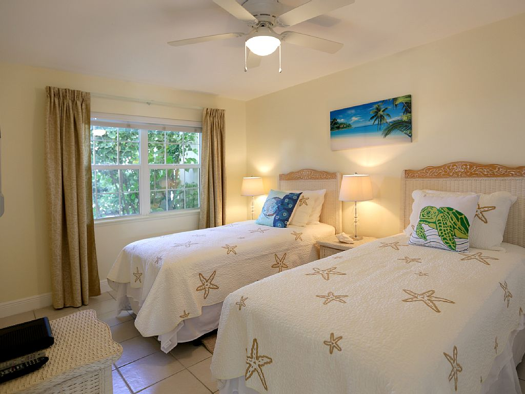 Twin Guest Bedroom can be converted to a King Bedroom.