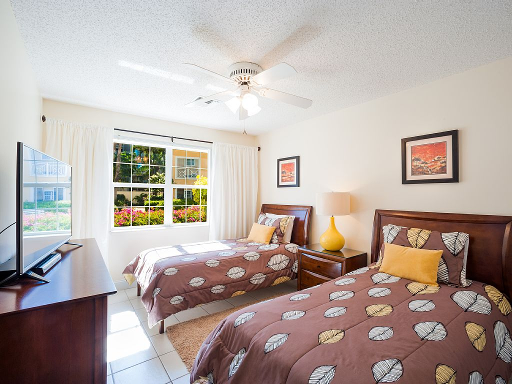 Twin Guest Bedroom can be converted to a King Guest Bedroom.