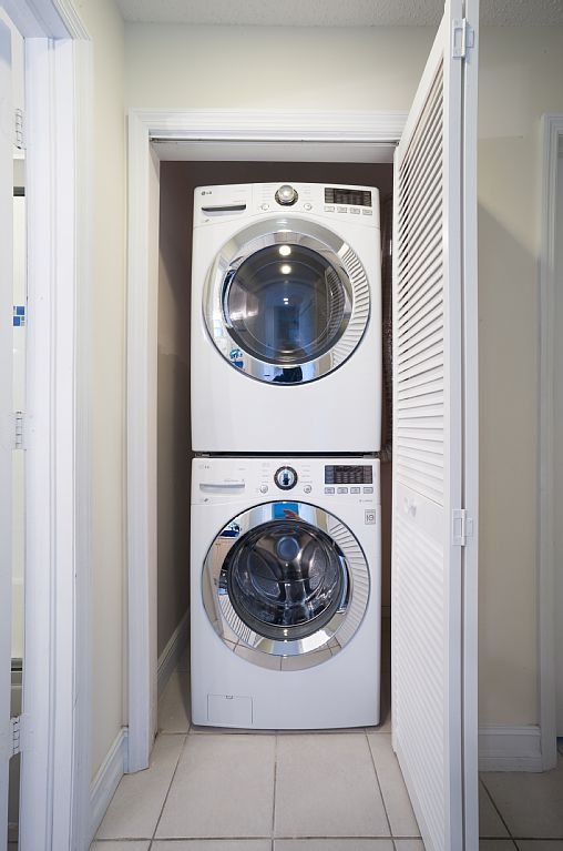 Washer/Dryer for your Convenience.
