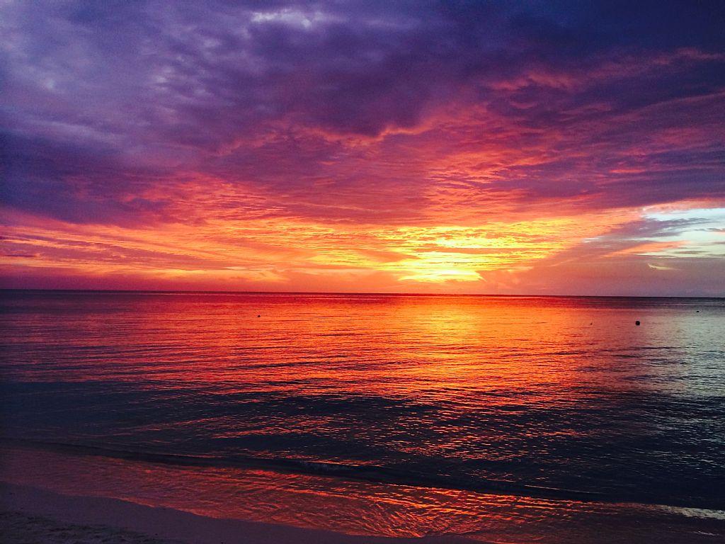 Majestic Sunset at Regal Beach.