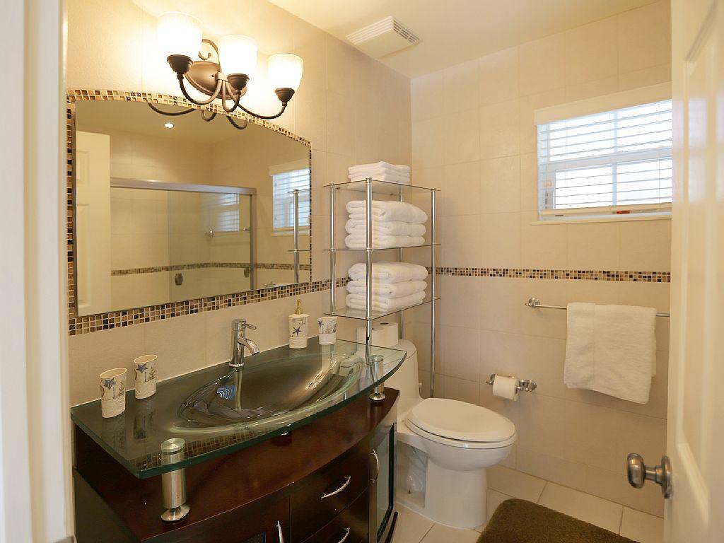 Modern Guest Bath.