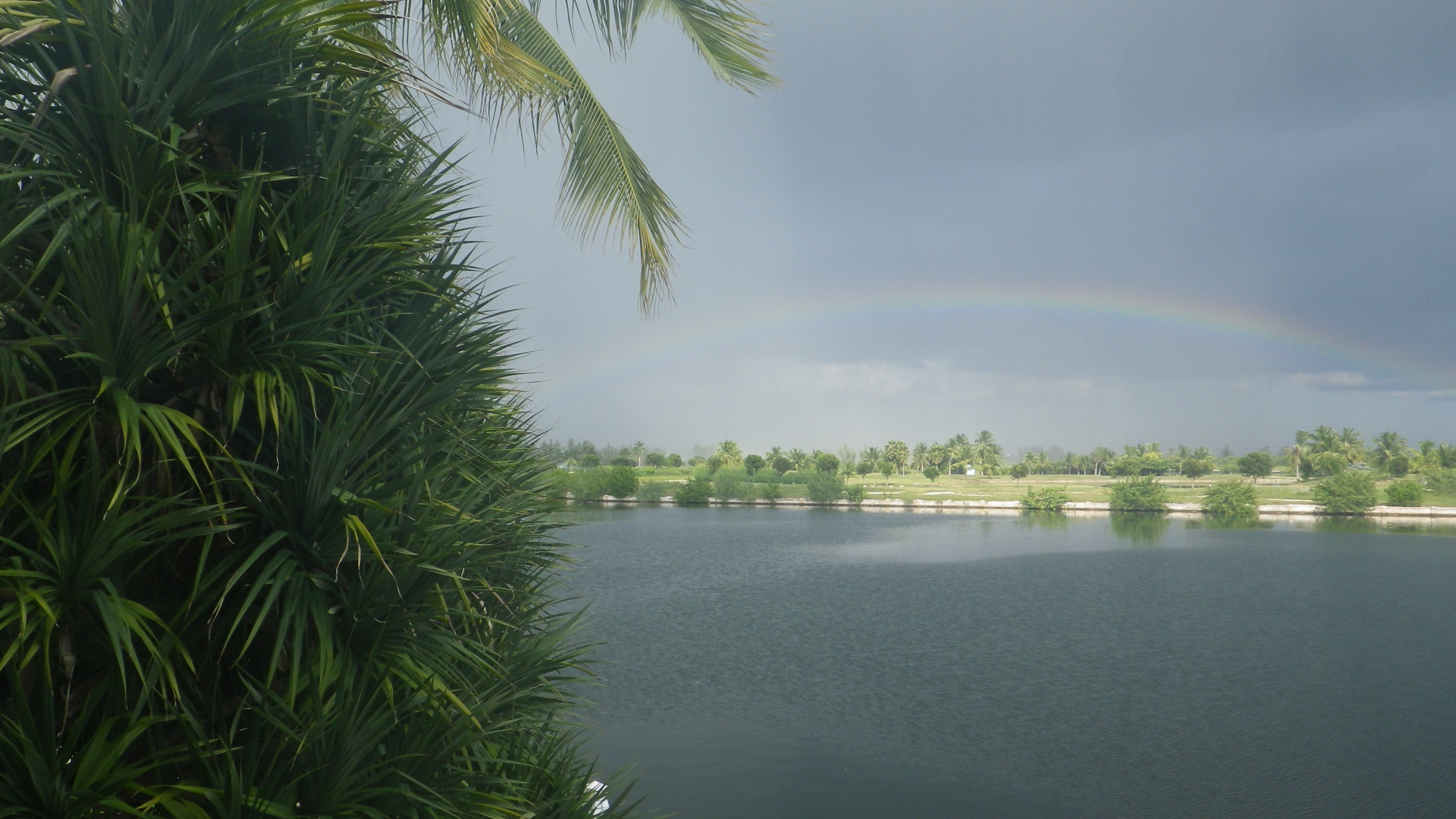 Water View Rainbow