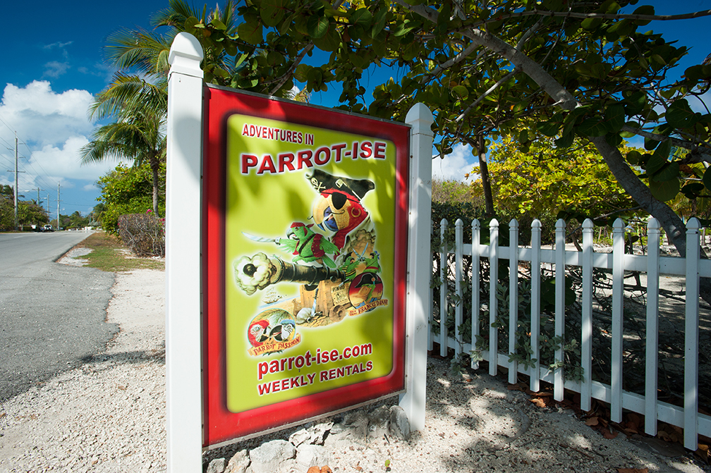 Parrot-ise Road Sign