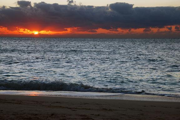 Georgetown Villas Beach Sunset
