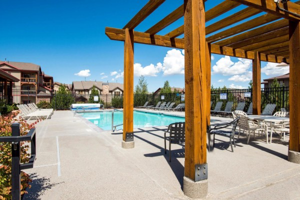 Bear Hollow Village Clubhouse Pool (summer)