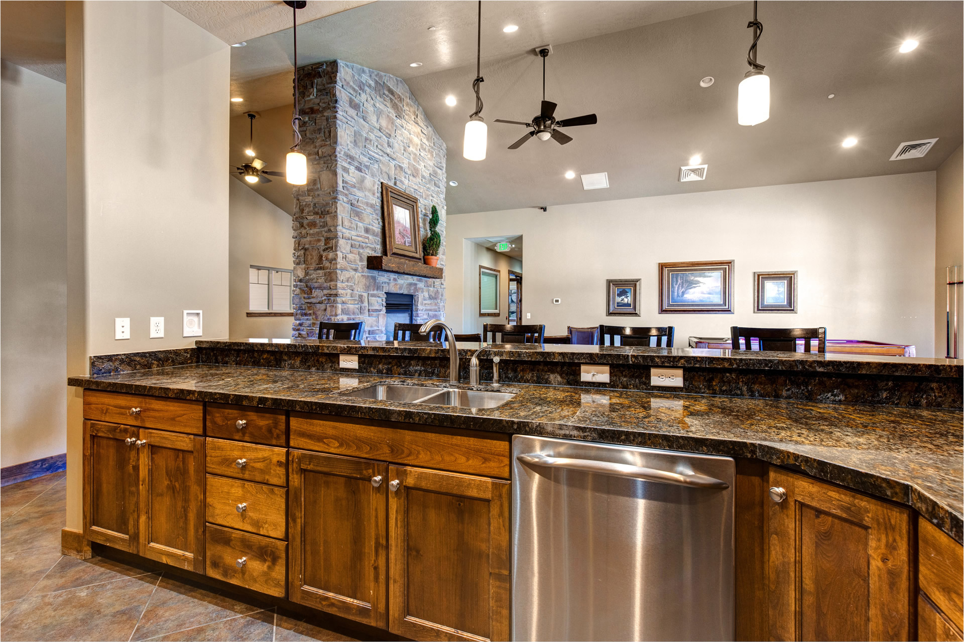 Community Clubhouse Kitchen