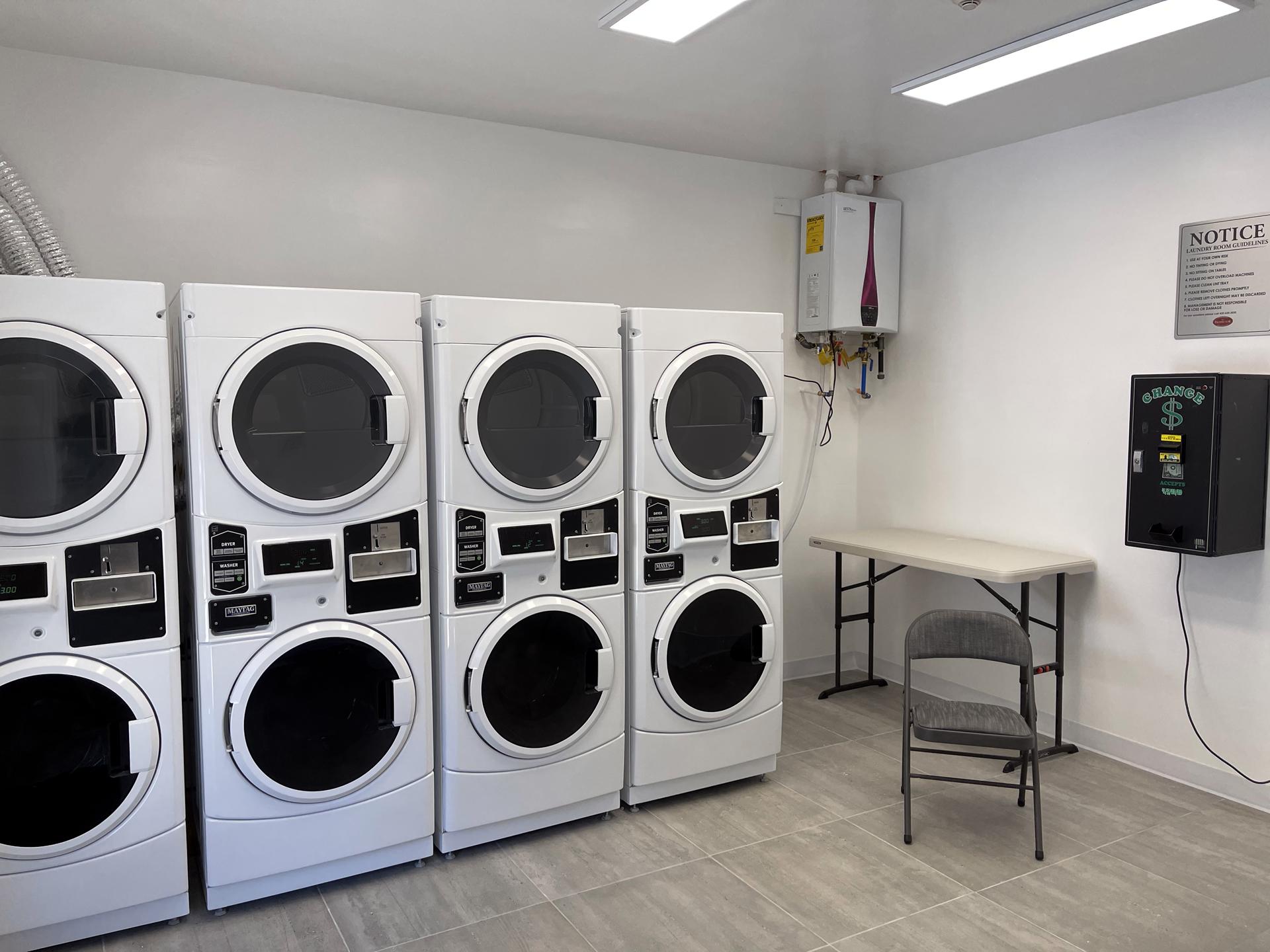 Prospector Laundry Facility