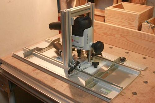 Router table lift and fence festool homemade blog 1 for How to make a router table stand