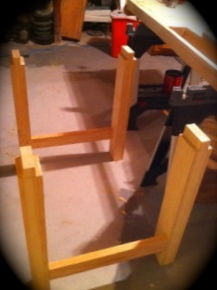Workbench Legs almost done