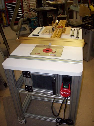 Vibration In Foot >> The Basement #7: New Incra Router Table - by JL7 @ LumberJocks.com ~ woodworking community