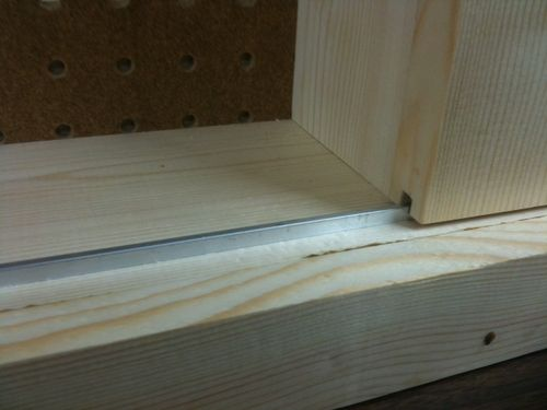 Shallow shop wall cabinet with sliding doors - by RetiredCoastie ...