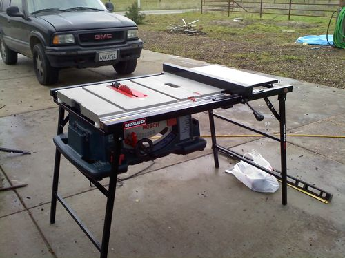 Best Portable Table Saw With Rousseau Table By Bsix Woodworking Community
