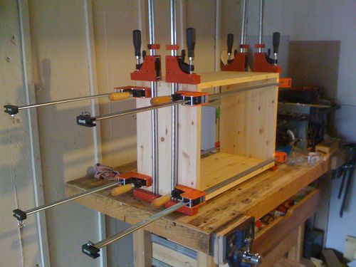 Solid Pine 2x12 Speaker Cabinet #2: Dry Fit & Glue-Up