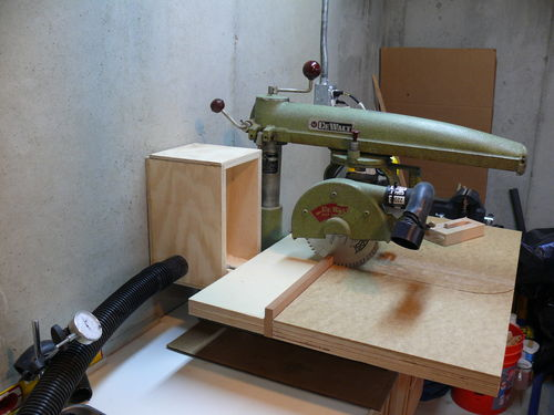 1956 Dewalt Mbf 9 Quot Radial Arm Saw 7 Less Dust In The