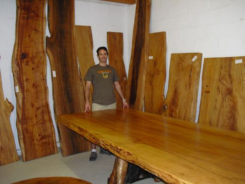 Yellow Wood Lumber ~ African lumber adventure quot pitruss table and benches