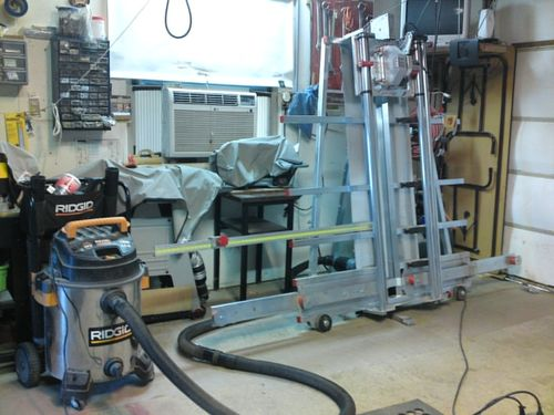 Milwaukee Panel Saw Accessories Wall : How do you cut down on dust from a panel saw by jack