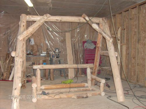 Log Swing By Knapp1189 Lumberjocks Com Woodworking Community