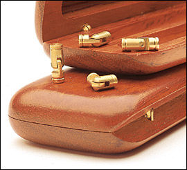 Brass Pin Hinges for jewelry box How much weight can they hold