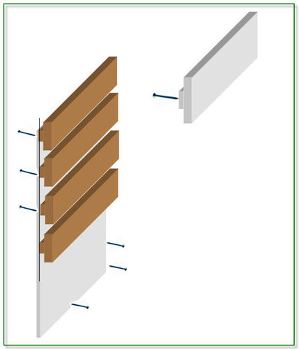 Thoughts On Making Homemade Slat Wall For Garage?   By Jerkylips @  LumberJocks.com ~ Woodworking Community