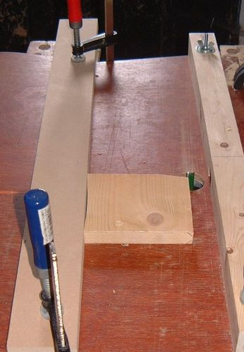 Jointingthicknessing on the router table a new approach by using this method you can jointthickness wood twice the size of your router cutter blade simply flip the wood over onto its other face and run it greentooth Image collections