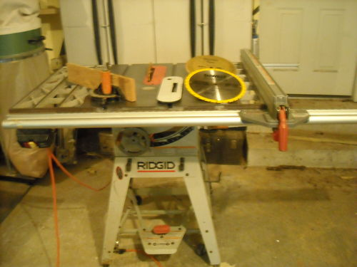 Ridgid Ts2424 Contractor Table Saw By Jobott