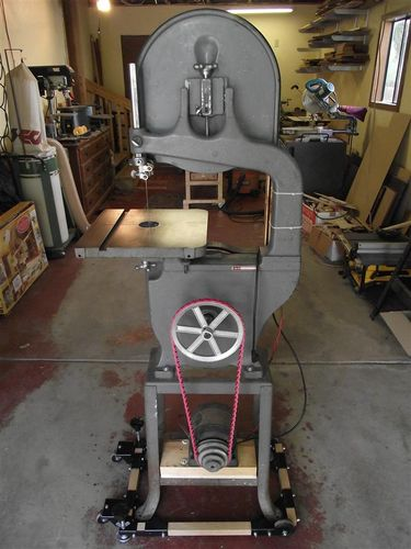 Old delta bandsaw restoration by bobasaurus lumberjocks old delta bandsaw restoration by bobasaurus lumberjocks woodworking community greentooth Gallery