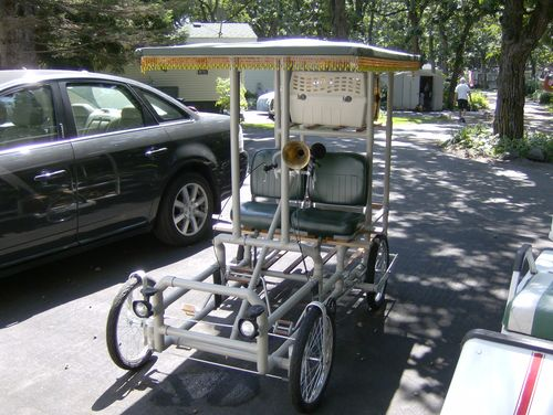 A Non Woodworking Project A 6 Speed Two Seat Pedal Car