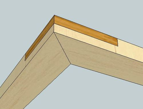 All Replies on How would you secure small miter corners and a